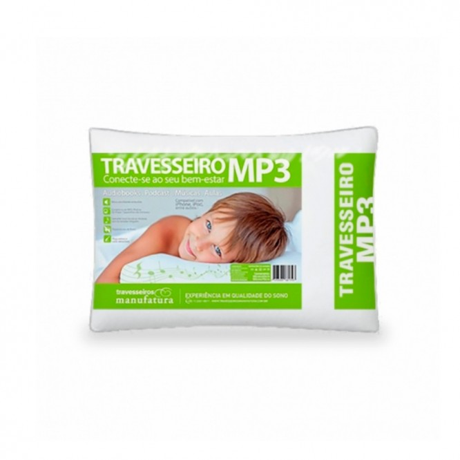 Travesseiro Mp3 50x70